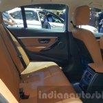 2016 BMW 3 Series rear seat at 2015 Thai Motor Expo