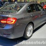 2016 BMW 3 Series rear three quarters at 2015 Thai Motor Expo