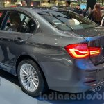 2016 BMW 3 Series rear three quarters left close at 2015 Thai Motor Expo