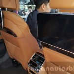 2016 BMW 7 Series LCD screen at 2015 Thai Motor Expo