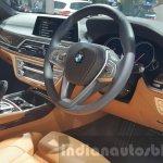 2016 BMW 7 Series steering wheel at 2015 Thai Motor Expo