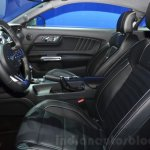 2016 Ford Mustang interior at 2015 Shanghai Auto Show