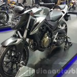 2016 Honda CB500F front quarter at the 2015 Thailand Motor Expo