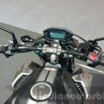 2016 Honda CB500F handlebar at the 2015 Thailand Motor Expo