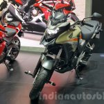 2016 Honda CB500X front at the 2015 Thailand Motor Expo