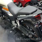2016 Honda CB500X seats at the 2015 Thailand Motor Expo