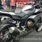 2016 Honda CBR500R exhaust at the 2015 Thailand Motor Expo