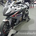 2016 Honda CBR500R front quarter at the 2015 Thailand Motor Expo