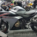2016 Honda CBR500R grey at the 2015 Thailand Motor Expo