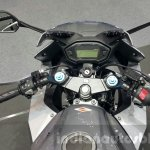 2016 Honda CBR500R handlebars at the 2015 Thailand Motor Expo