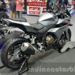 2016 Honda CBR500R rear quarter at the 2015 Thailand Motor Expo