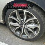 2016 Kia Forte Koup (facelift) wheel spied
