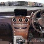 2016 Mercedes-Benz GLC dashboard at 2015 Thai Motor Expo