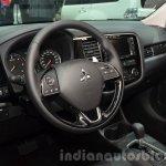 2016 Mitsubishi Outlander cockpit at 2015 Frankfurt Motor Show
