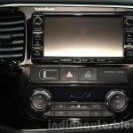 2016 Mitsubishi Outlander infotainment at 2015 Frankfurt Motor Show