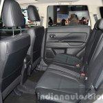 2016 Mitsubishi Outlander rear seats at 2015 Frankfurt Motor Show