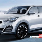 2016 Peugeot 3008 front three quarters rendering