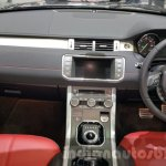2016 Range Rover Evoque dashboard at 2015 Thai Motor Expo