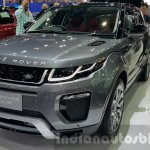 2016 Range Rover Evoque front three quarter at 2015 Thai Motor Expo
