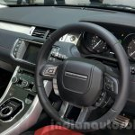 2016 Range Rover Evoque interior at 2015 Thai Motor Expo