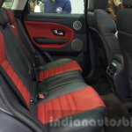 2016 Range Rover Evoque rear seats  at 2015 Thai Motor Expo