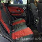 2016 Range Rover Evoque rear seats at 2015 Thai Motor Expo