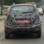 2016 Renault Duster (facelift) rear spotted