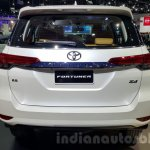 2016 Toyota Fortuner rear at 2015 Thailand Motor Expo