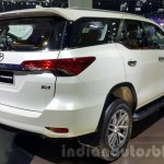 2016 Toyota Fortuner rear quarter at 2015 Thailand Motor Expo