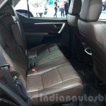 2016 Toyota Fortuner rear seats legroom at 2015 Thailand Motor Expo