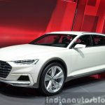 Audi Prologue Allroad Concept front three quarters 2 at 2015 Shanghai Auto Show
