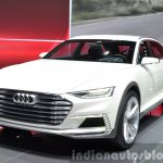 Audi Prologue Allroad Concept front three quarters 3 at 2015 Shanghai Auto Show
