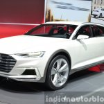 Audi Prologue Allroad Concept front three quarters at 2015 Shanghai Auto Show