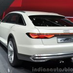 Audi Prologue Allroad Concept rear three quarters close at 2015 Shanghai Auto Show