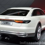 Audi Prologue Allroad Concept rear three quarters right at 2015 Shanghai Auto Show