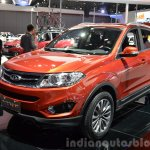 Chery Tiggo 5 1.5T front three quarters at the 2015 Shanghai Auto Show