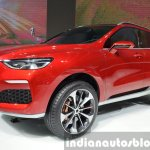 Haval Concept R front three quarters at 2015 Shanghai Auto Show