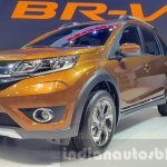 Honda BR-V front three quarter left at Thai Motor Expo 2015