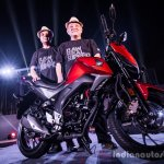 Honda CB Hornet 160R engine launch
