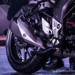 Honda CB Hornet 160R exhaust launch