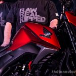 Honda CB Hornet 160R fuel tank launch