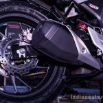 Honda CB Hornet 160R rear alloy wheel launch