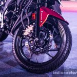 Honda CB Hornet 160R triple-pot Nissin disc brake launch