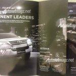 Indonesia-spec 2016 Toyota Fortuner exterior features brochure leaks