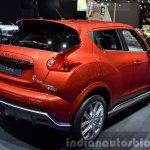Infiniti ESQ rear three quarters at 2015 Shanghai Auto Show