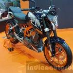 KTM Duke 250 front quarter at 2015 Thailand Motor Expo