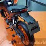 KTM Duke 250 registration plate hanger at 2015 Thailand Motor Expo