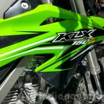 Kawasaki KLX 150BF body panel at 2015 Thailand Motor Expo