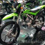 Kawasaki KLX 150BF front quarter at 2015 Thailand Motor Expo