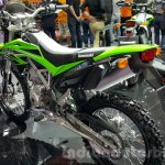 Kawasaki KLX 150BF rear quarter at 2015 Thailand Motor Expo